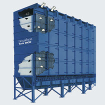 Bag dust collector / pneumatic backblowing / stand-alone / heavy-duty