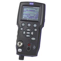 Pressure calibrator / temperature / for temperature sensors / hand-held
