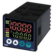 Digital temperature controller / programmable / panel-mount / auto-tuning