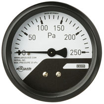 Analog pressure gauge / differential / for HVAC