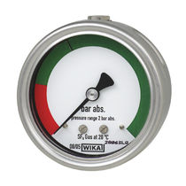 Dial pressure gauge / for SF6 / stainless steel