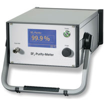 SF6 meter / concentration / benchtop / compact