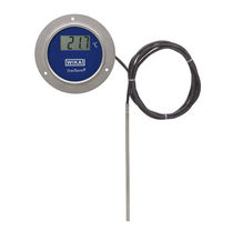 Resistance thermometer / digital / insertion / contact