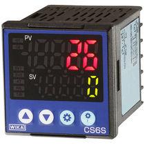 Digital temperature controller / PID / programmable / process
