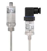 Resistance temperature probe / programmable / compact / explosion-proof