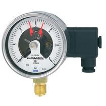 Analog pressure gauge / Bourdon tube / for liquids / process