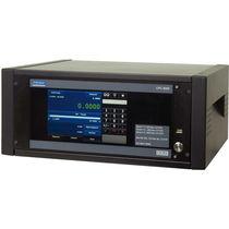 Pressure calibration pressure controller