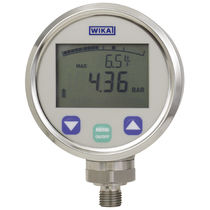 Digital pressure gauge / electronic / process