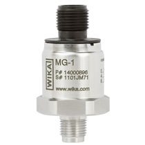 Membrane pressure transmitter / analog / stainless steel / for medical applications