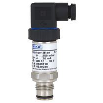 Membrane pressure transmitter / analog / flush / stainless steel
