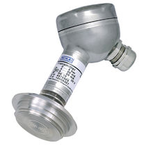 Flush diaphragm pressure transmitter / for the food industry / sanitary / high-temperature