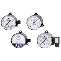 Analog pressure gauge / differential / process / rugged