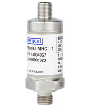 Relative pressure transmitter / membrane / CANopen / screw