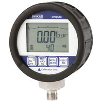 Digital pressure gauge / Bourdon tube / calibration / rugged