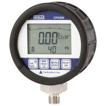 Digital pressure gauge / Bourdon tube / laboratory / calibration