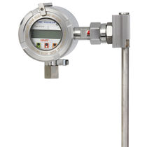 Magnetostrictive level sensor / for liquids / for the food industry / stainless steel