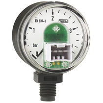 Analog pressure gauge / Bourdon tube / process / for water