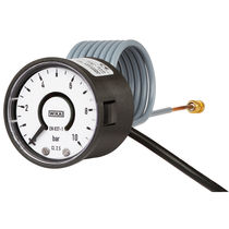 Dial pressure gauge / Bourdon tube / non-contact / with electrical contact