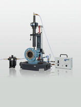 Safety valve grinding machine / lapping
