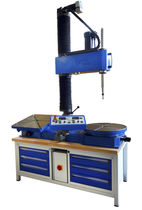 Stationary grinding machine / lapping