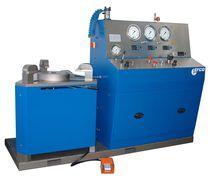 Vertical test bench / safety valve