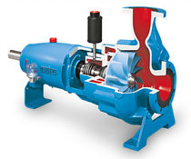 Slurry pump / for wastewater / electric / vortex