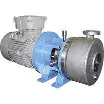Wastewater pump / electric / centrifugal / disk flow