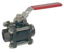 Ball valve / manual / control / for water
