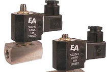 Direct-operated solenoid valve / 2/2-way / gas / water