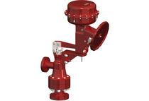 Control valve / spring / for compressible fluids / carbon steel