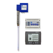 Conductive level controller / with LCD display / for boilers