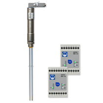 Conductive level controller / for boilers