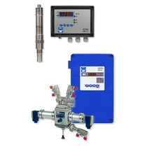 Oil detector / conductivity / with digital display / industrial