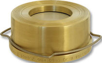 Disc check valve / for HVAC / brass