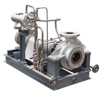 Water pump / centrifugal / loading / process