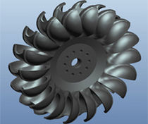 Hydraulic turbine / Pelton / for power generation
