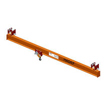 Single-girder overhead traveling crane / hanging