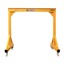 Gantry crane on casters / for workshops