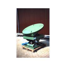 Scissor lift table / hydraulic / tilting / rotating