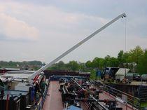 Barge crane / boom / hydraulic