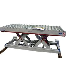Tandem scissor lift table / hydraulic