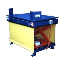 Scissor lift table / hydraulic / tilting / stationary