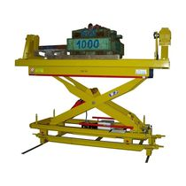 Scissor lift table / hydraulic / tilting