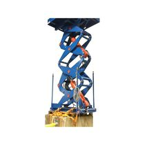 Four-scissor lift table / hydraulic