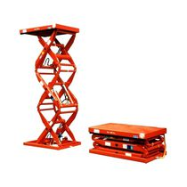 Double-scissor lift table / triple-scissor / hydraulic