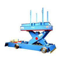 Scissor lift table / hydraulic / loading / for coils