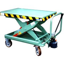 Scissor lift table / hydraulic / roller