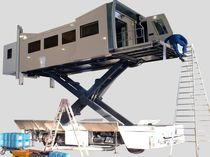 Scissor lift table / hydraulic / loading / for heavy loads