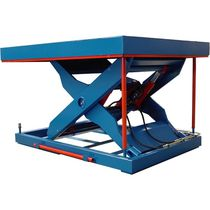 Scissor lift table / hydraulic / stationary