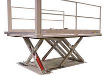 Scissor lift table / hydraulic / loading